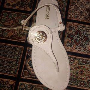 Michael Kors Shoes - Leather Michael Kors Sandals